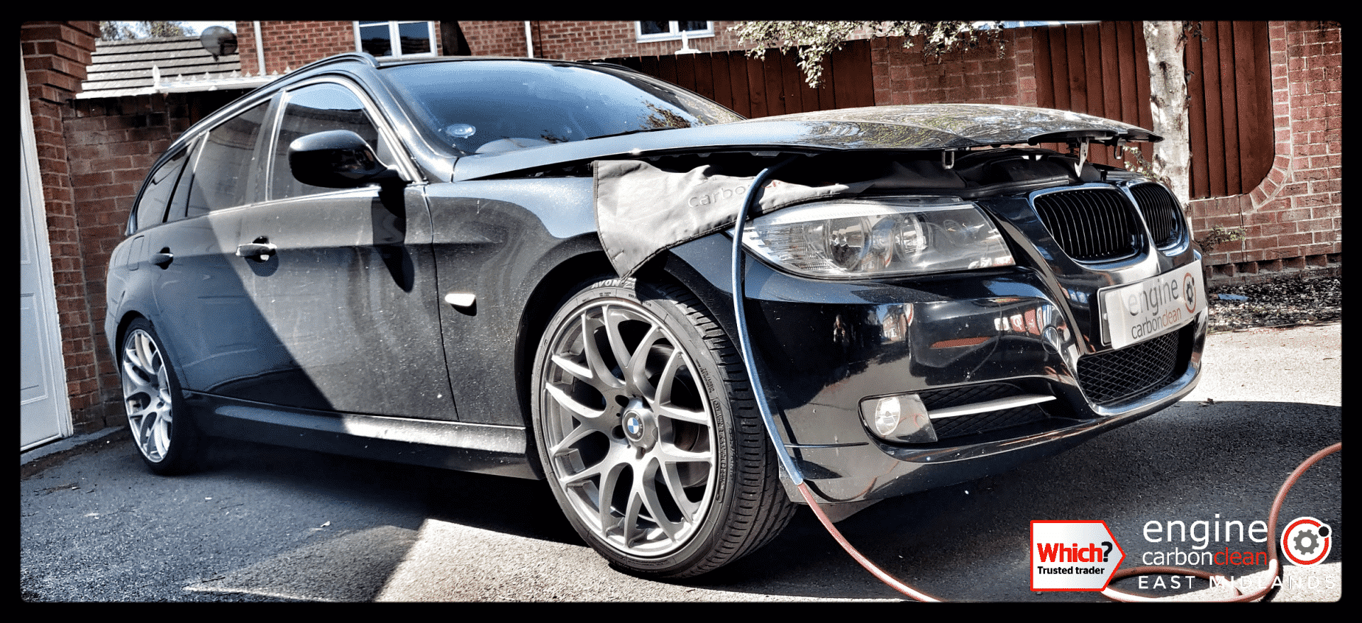Diagnostic Consultation and Engine Carbon Clean on a BMW 318d (2011 - 108,801 miles)