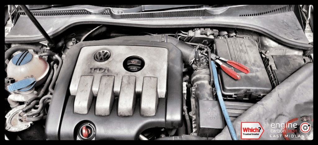 Diagnostic Consultation and Engine Carbon Clean on a VW Golf 2.0 TDI (2006 - 160,139 miles)