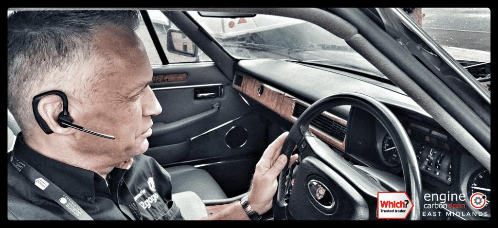 Engine Carbon Clean on a Jaguar XJS 3.6 flat six (1991 - 89, 268 miles)