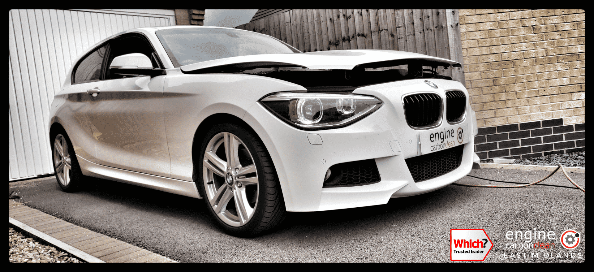Vehicle purchase diagnostic consultation and Engine Carbon Clean - BMW 120d (2013 - 97,723 miles)
