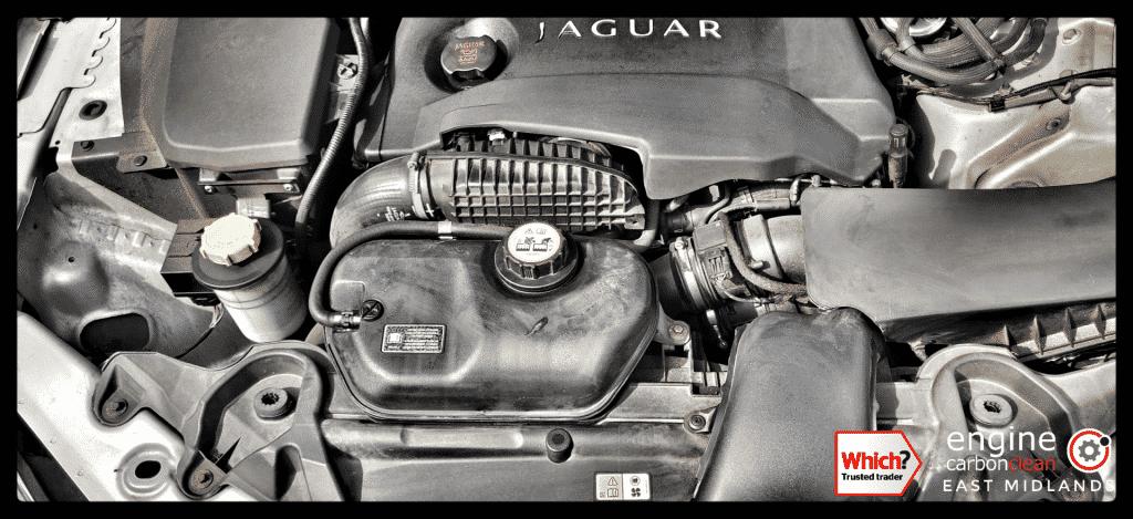 Diagnostic Consultation and Engine Carbon Clean - Jaguar XF 2.0d (2010 - 96,452 miles)