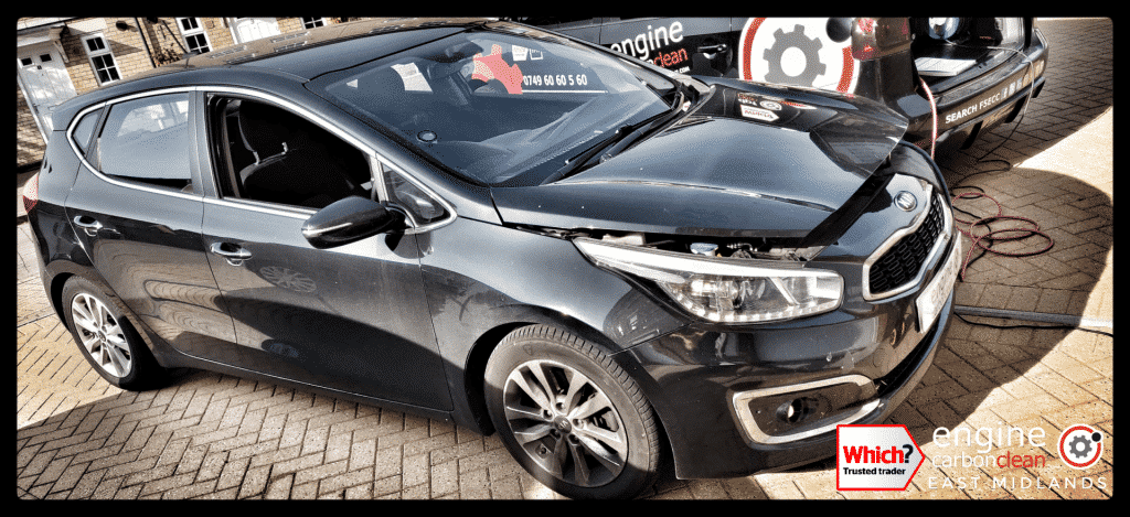 Diagnostic Consultation and Engine Carbon Clean on a Kia Cee'd 1.6d (2016 - 77,120 miles)