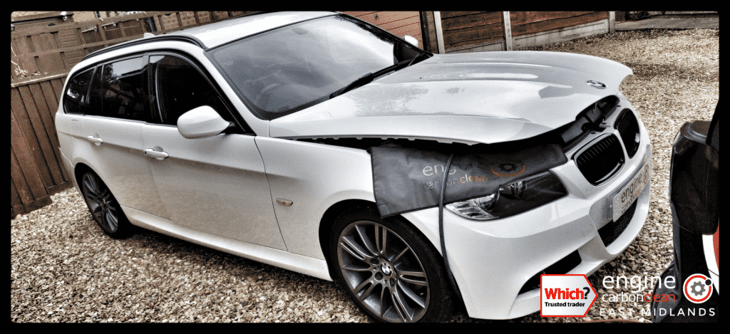 EGR Cooler issues - Diagnostics and Engine Carbon Clean on a BMW 320d (2011 - 105,104 miles)